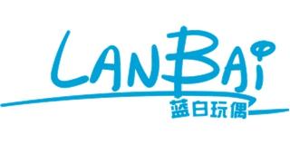 蓝白玩偶品牌logo